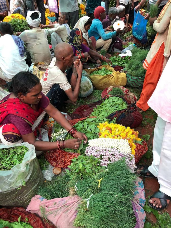 Local vegetable market