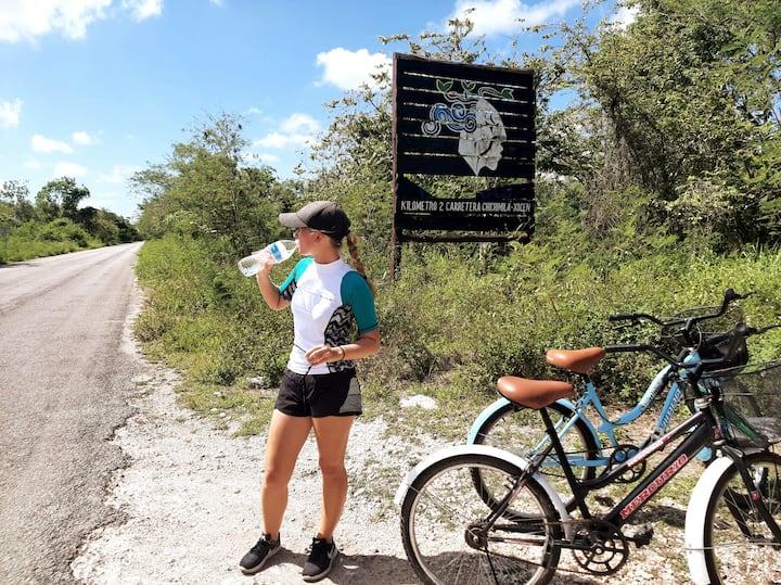 Entrada al Bioparque Xlakaj