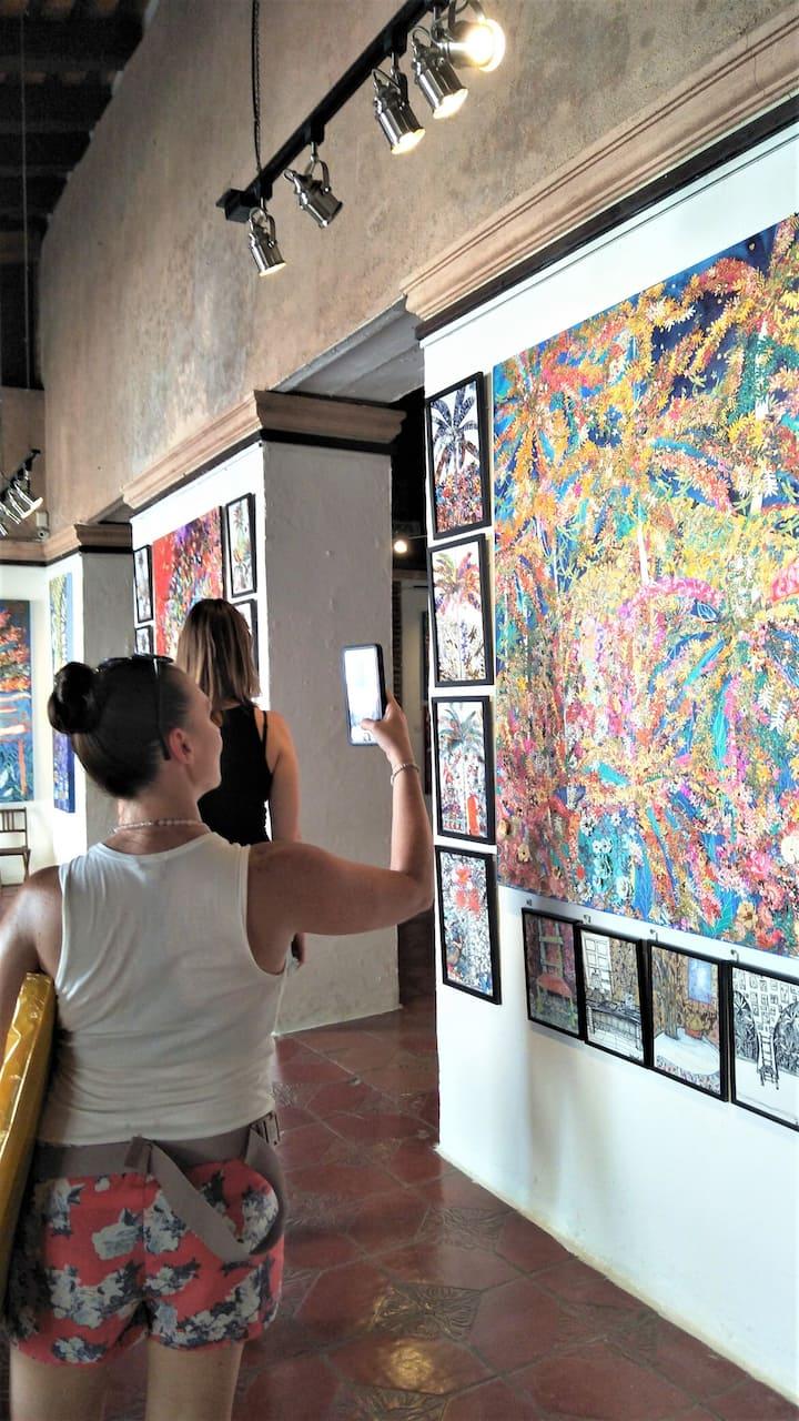 explore the creative spots