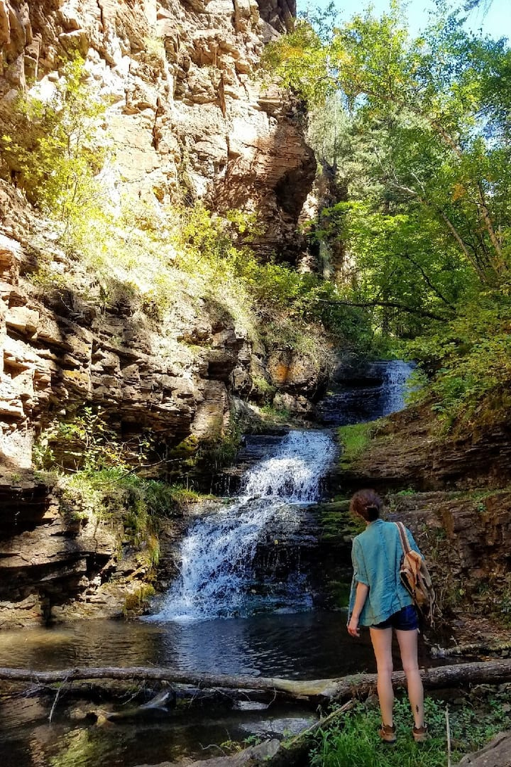 Rubicon Gulch on the Bridal Veil Falls Trail