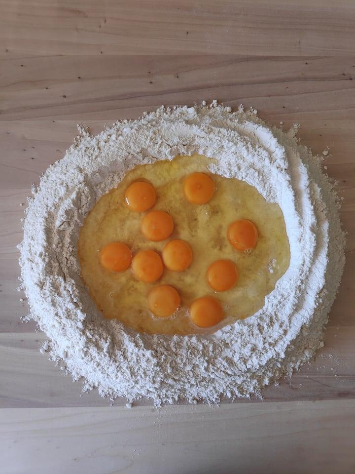 Egg Pasta Dough