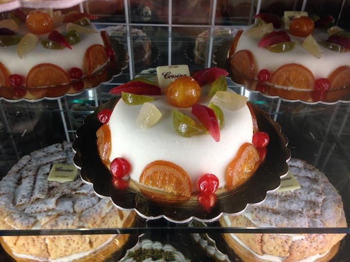 Cassata Siciliana dolce tipico