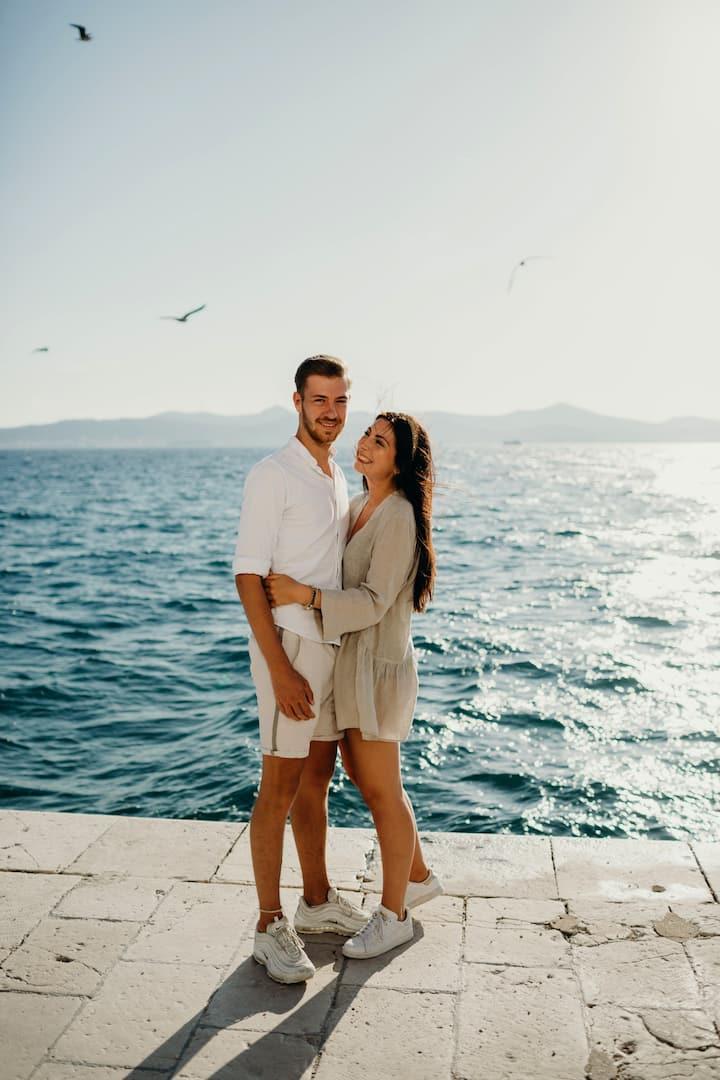 Couple photo session in Zadar