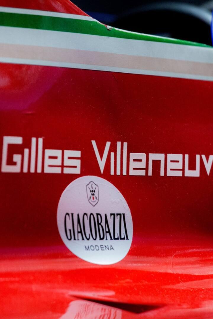Gilles Villeneuve's F1 car