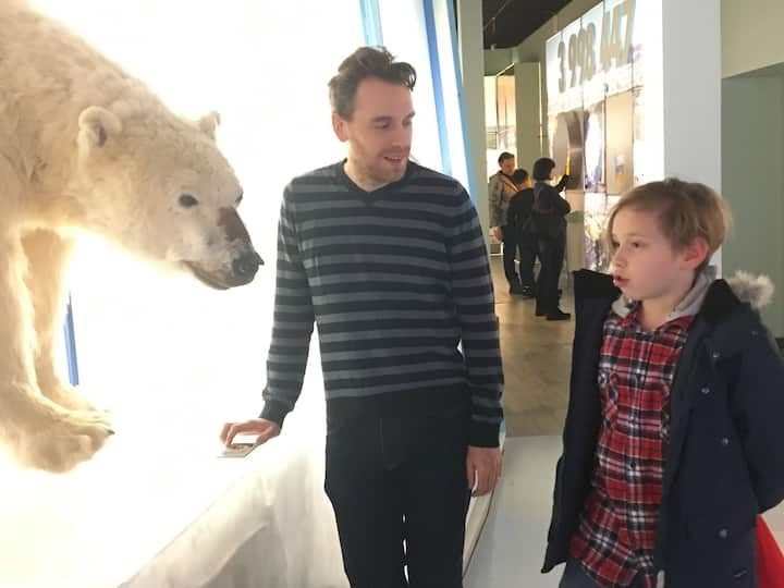 Polar bear as symbol of climate change