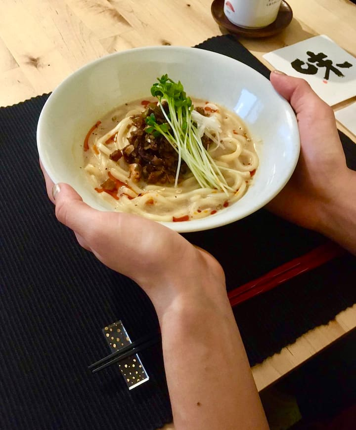 VEGAN with Udon (without egg) version