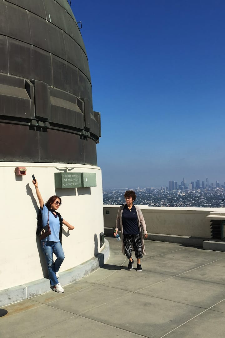 Stunning vistas at Griffith Observatory