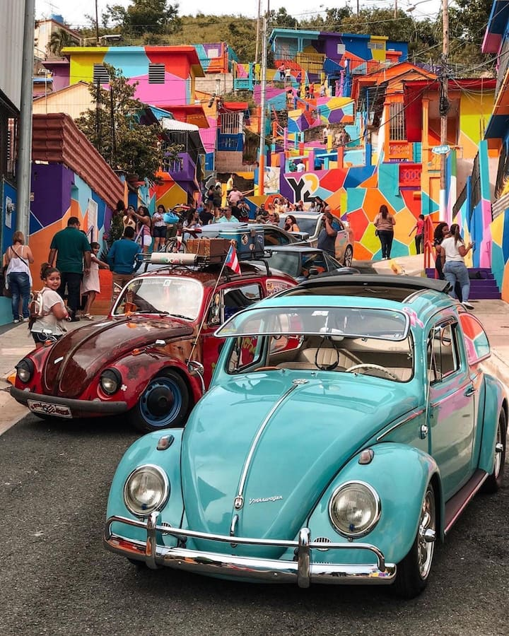 Visit the color washed town of Yauco