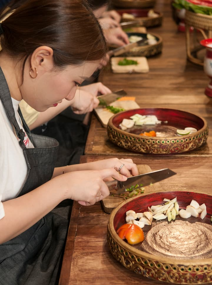 Hands-on Thai Cooking Experience