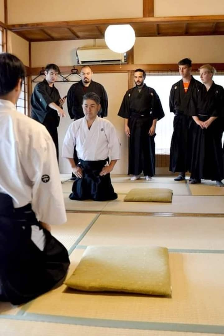 You can lean various samurai manners.
