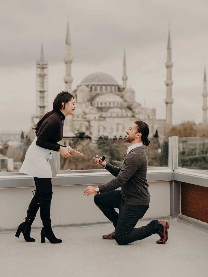 Proposal Photoshoot in istanbul