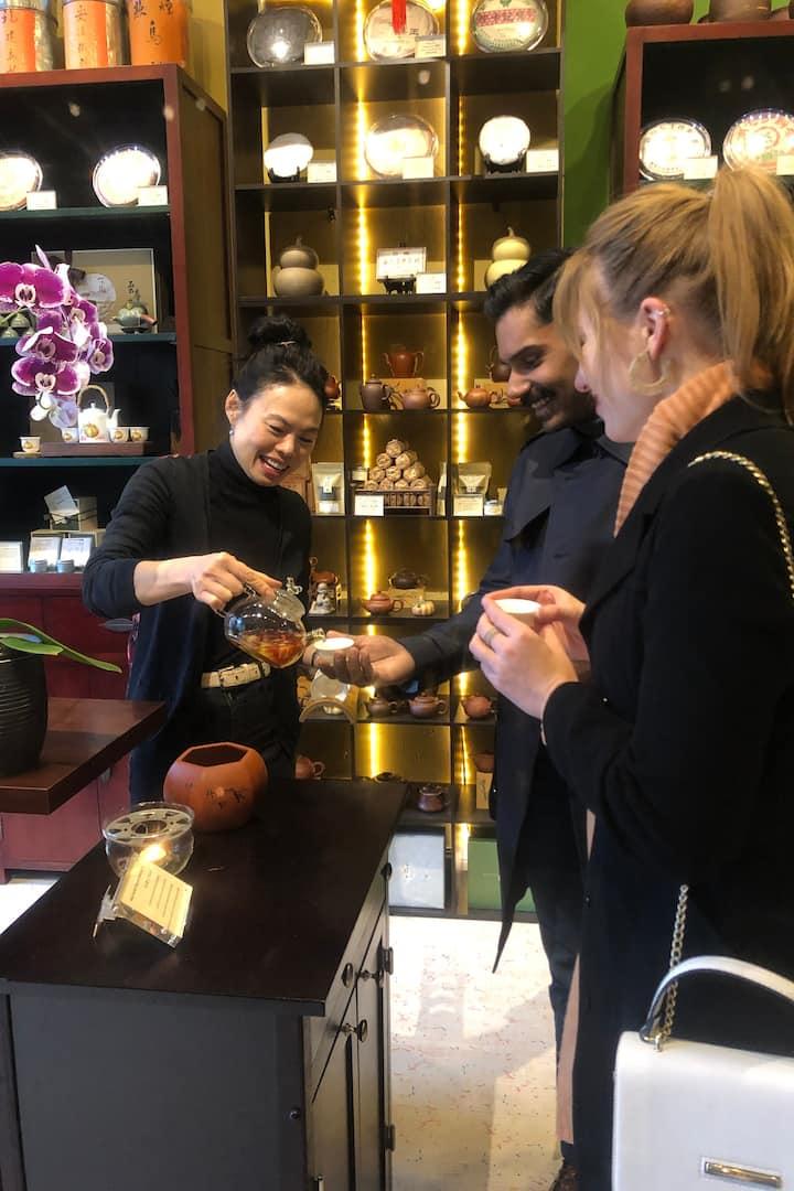 Visting a tea sommelier