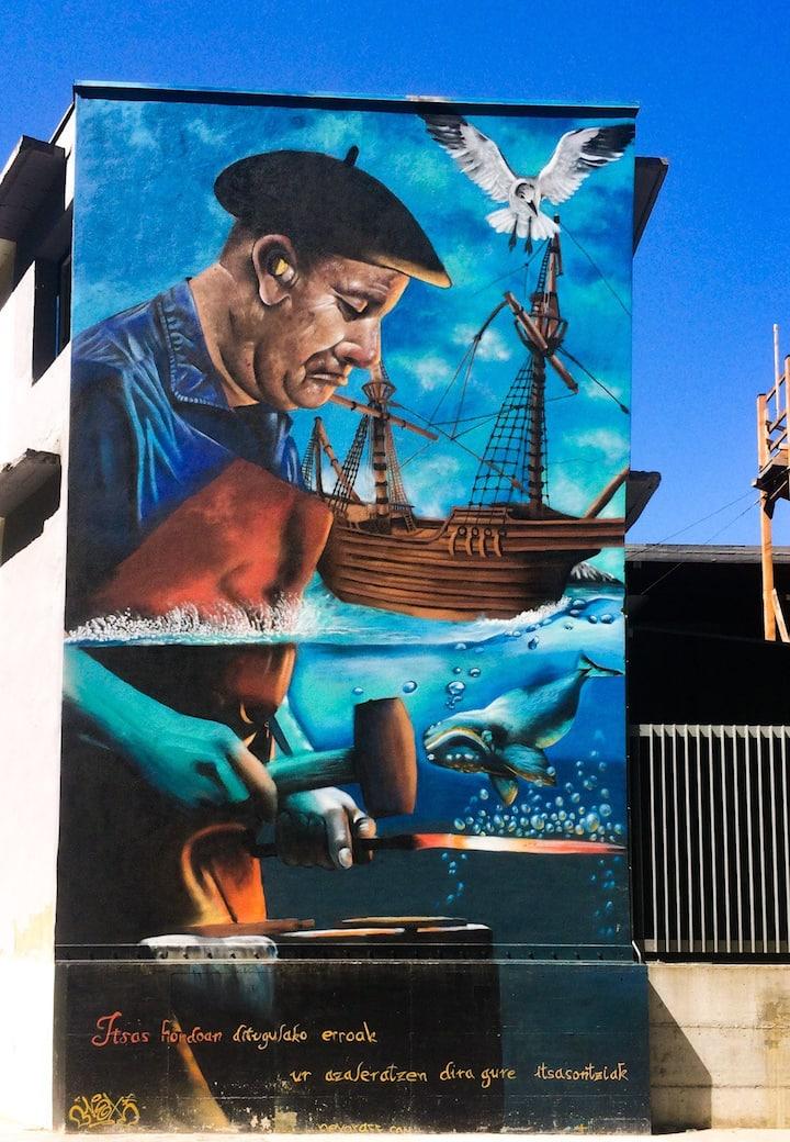 Arte urbano del camino