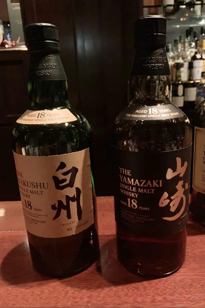 Who love HAKUSHU 18th & YAMAZAKI 18th?