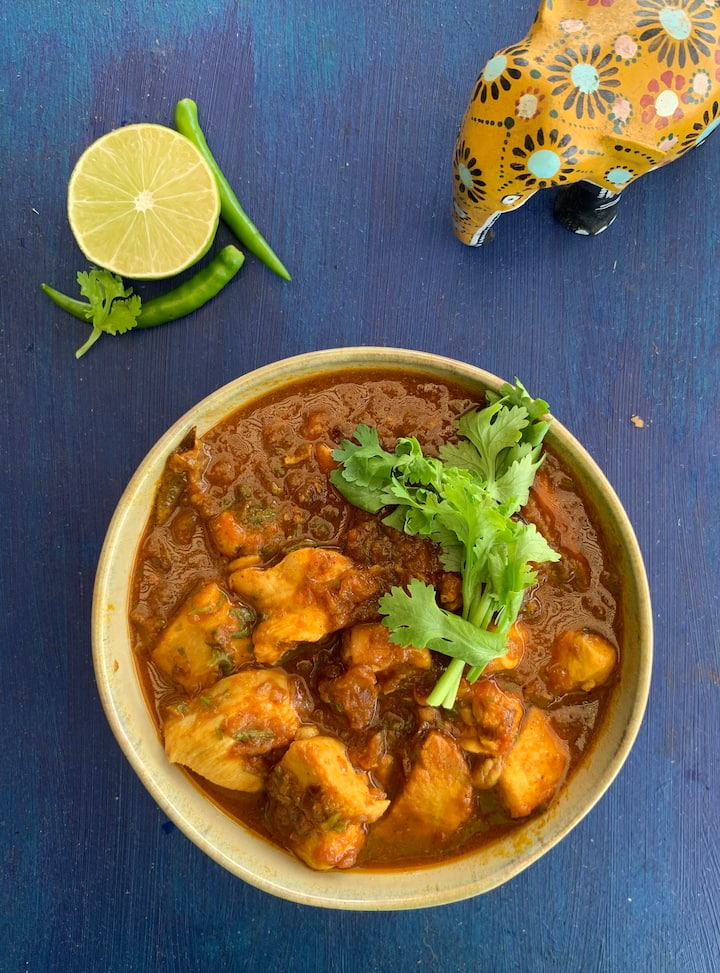 Boring Indian Chicken Curry