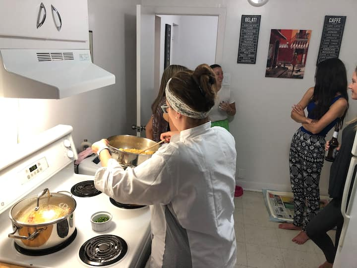 Our cooking class