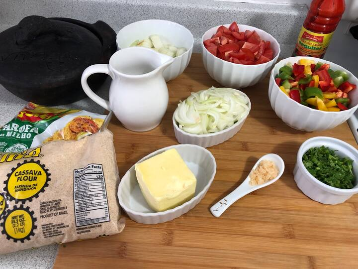 Ingredients for our recipe