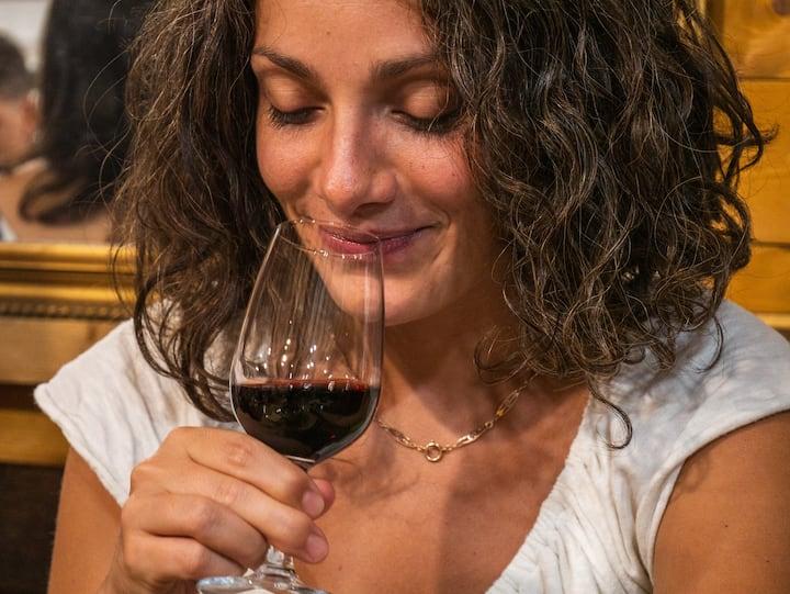 Wine tasting in Caluso