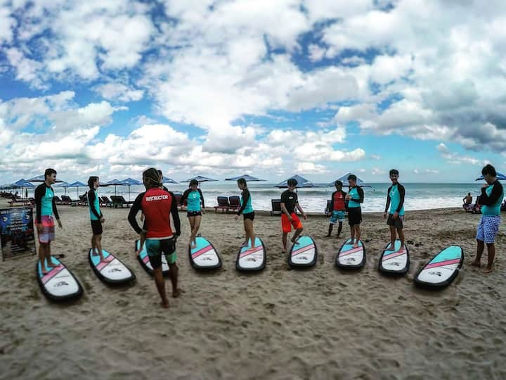 Practice with airbnb surfers