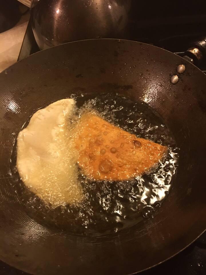 Curry chicken empanadas