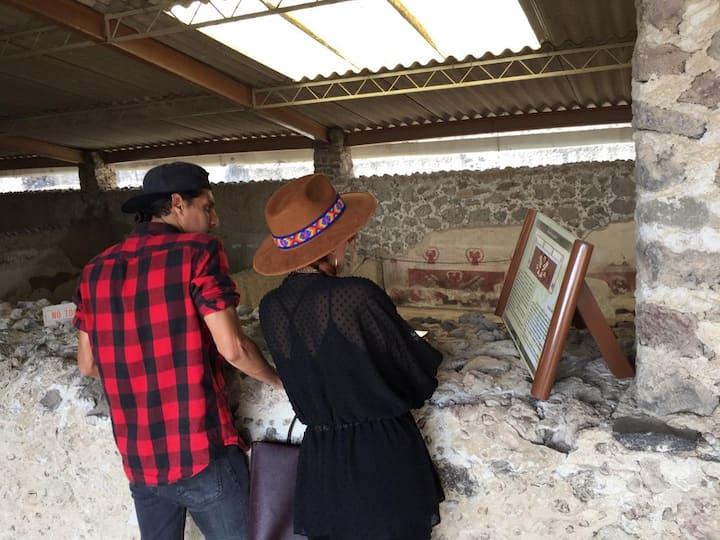 Atetelco, parte de un barrio Teotihuacan