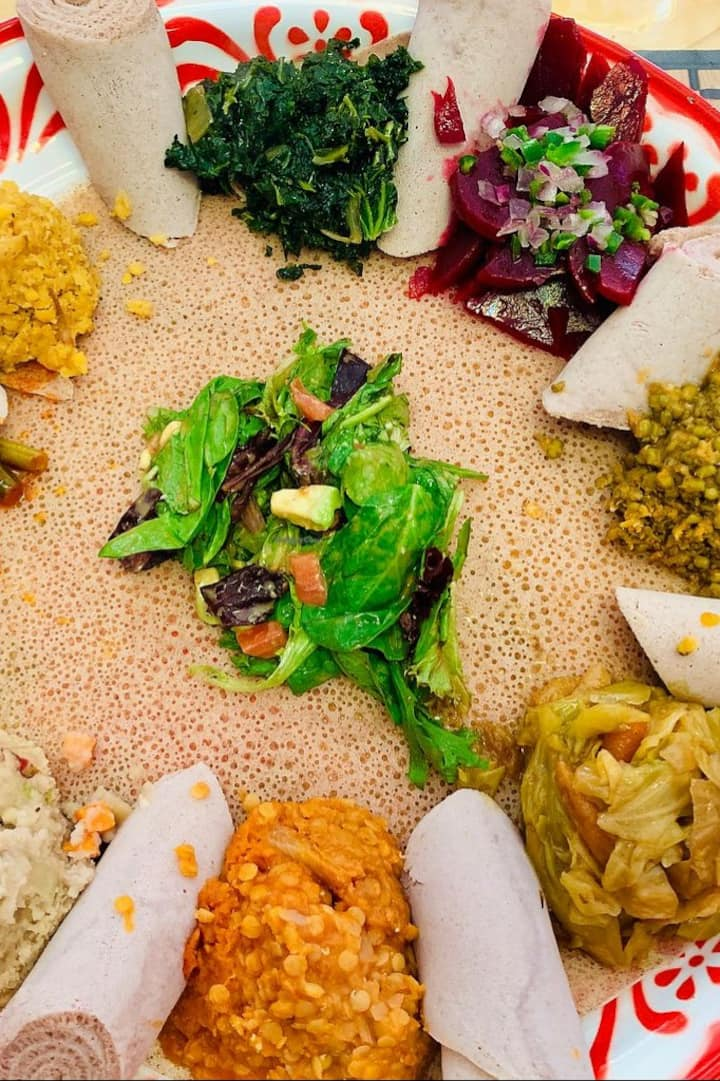 Ethiopian Veggie Plate
