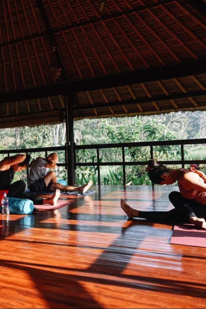 I am teaching the Hatha Yoga Class