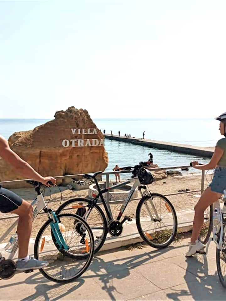 Otrada beach and much more on our route