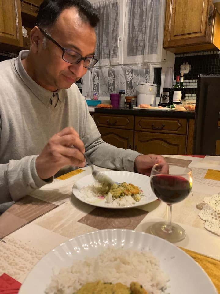Mike is great on helping pair  easy wine