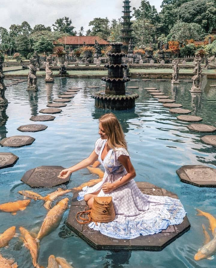 Water palace tirta gangga