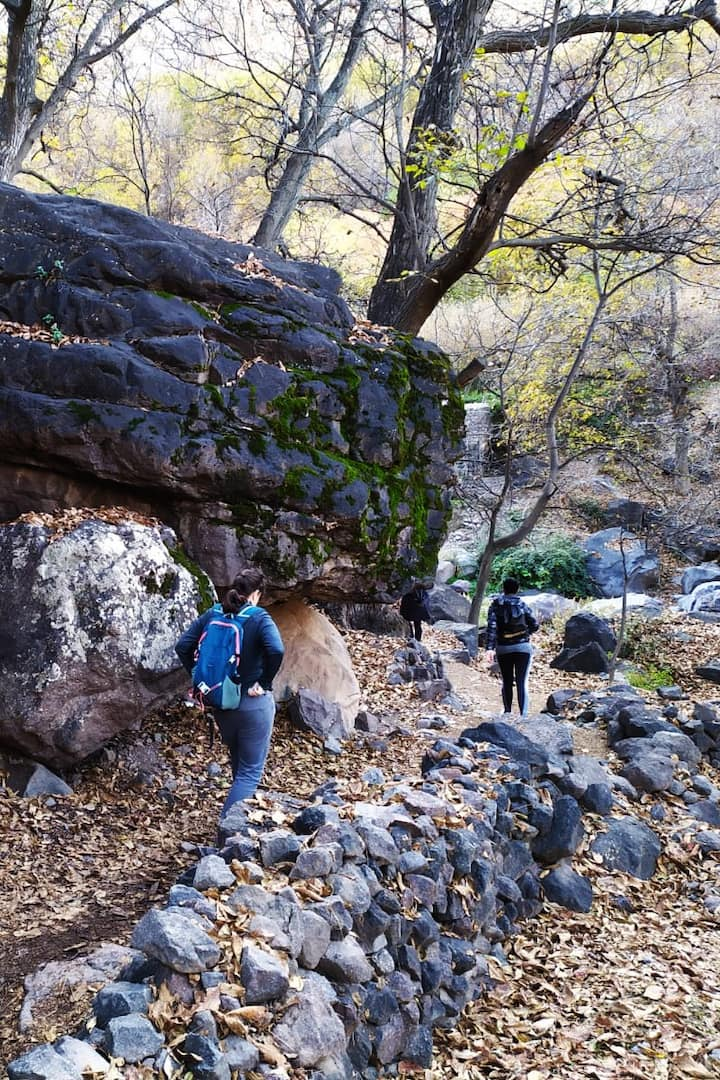Hiking in imlil valley