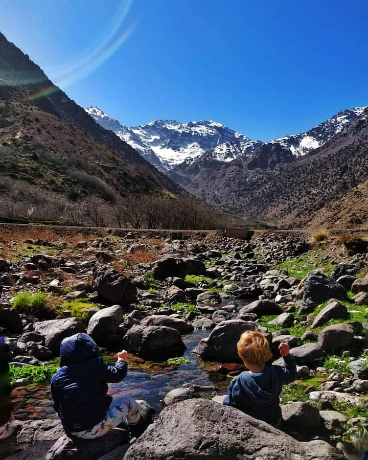 view Mount Toubkal