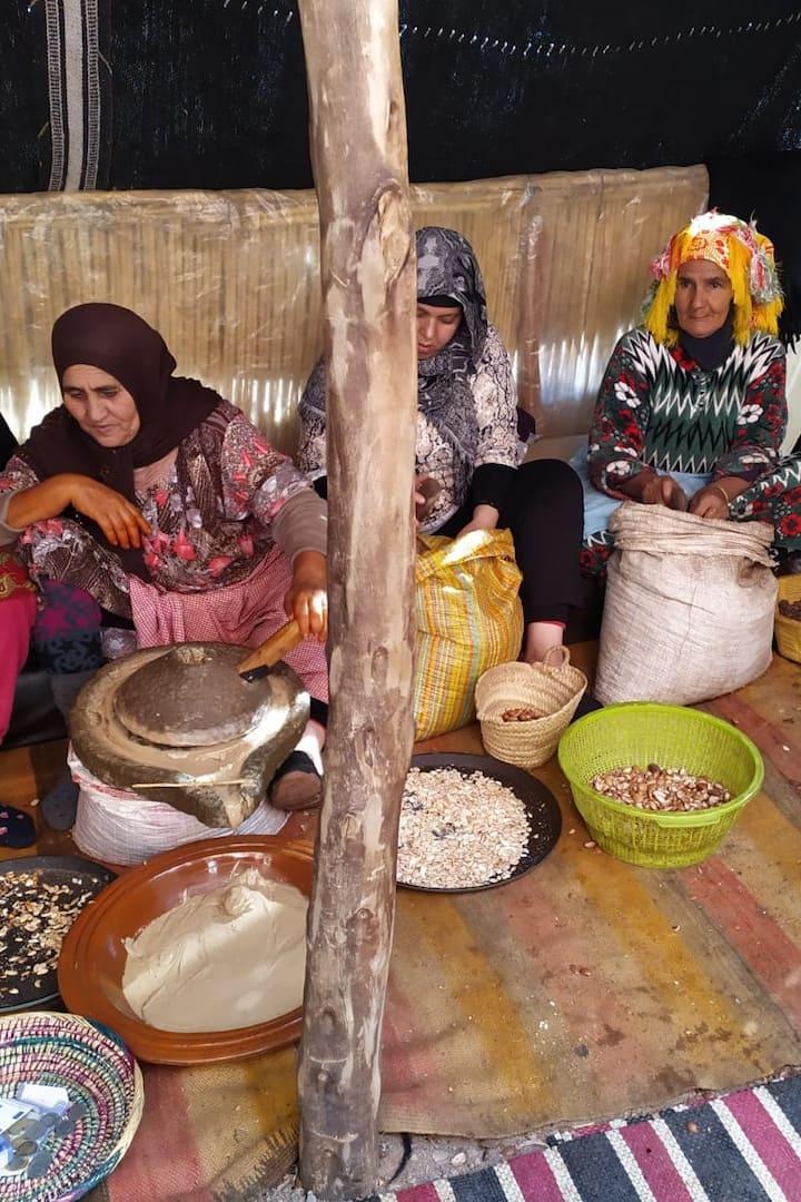 cooperative of argan women