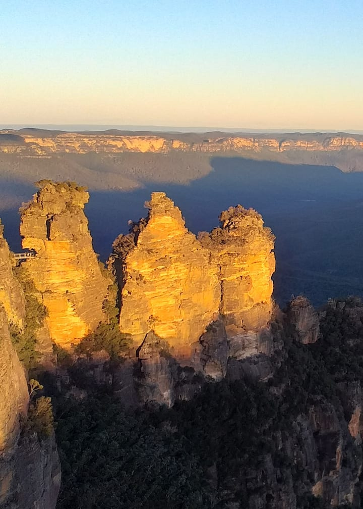 Three Sisters Sunset