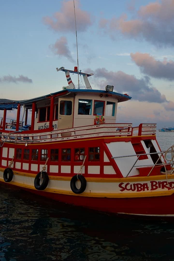 Scuba Birds Dive boat