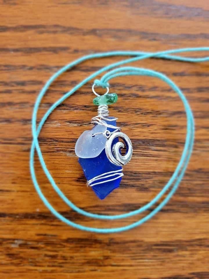 Cobalt Necklace