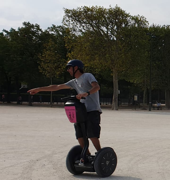 Florian, passionate Segway instructor