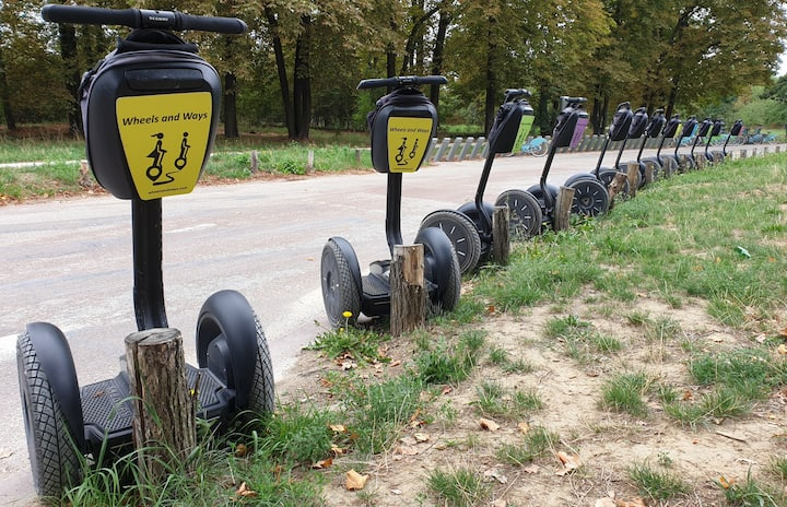 More than 20 segway available