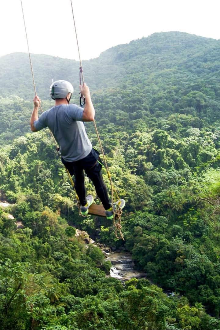 Exhilarating adventure