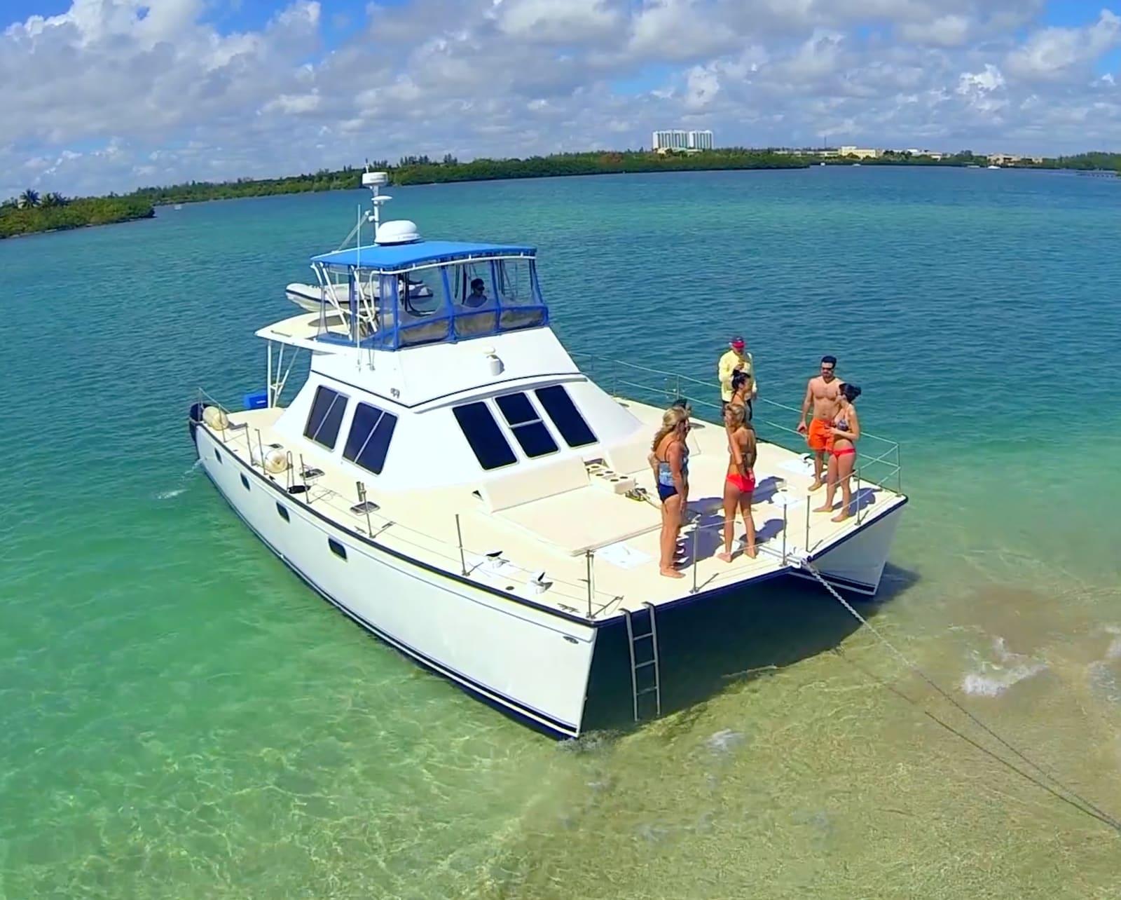 Cruise Miami By Catamaran Motor Yacht