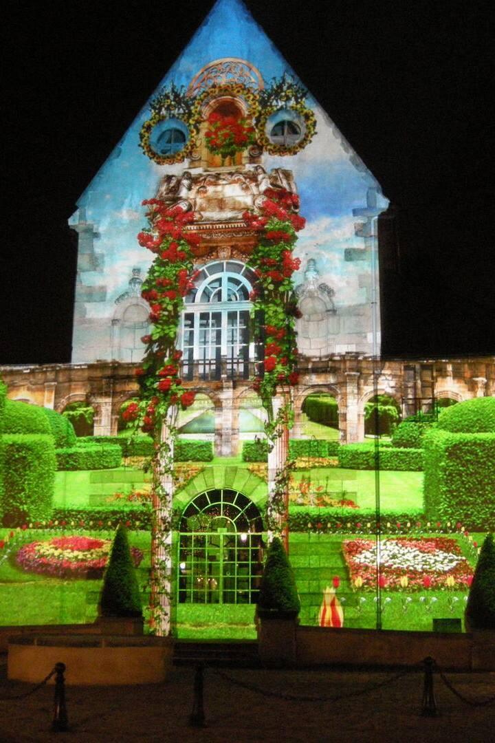 Illuminations chapelle Saint Etienne