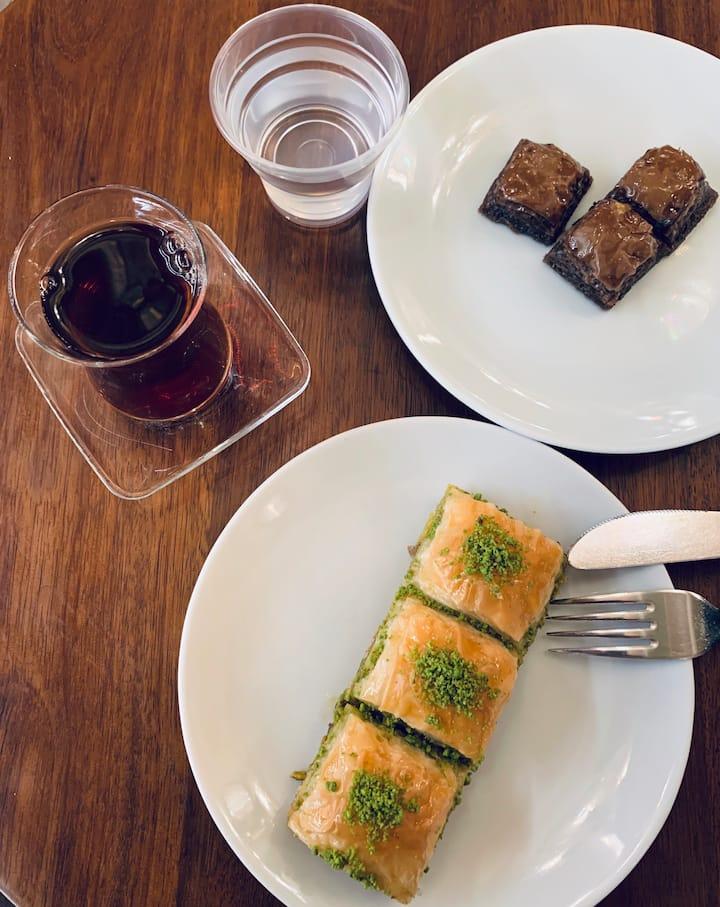Best Turkish Baklava in Istanbul