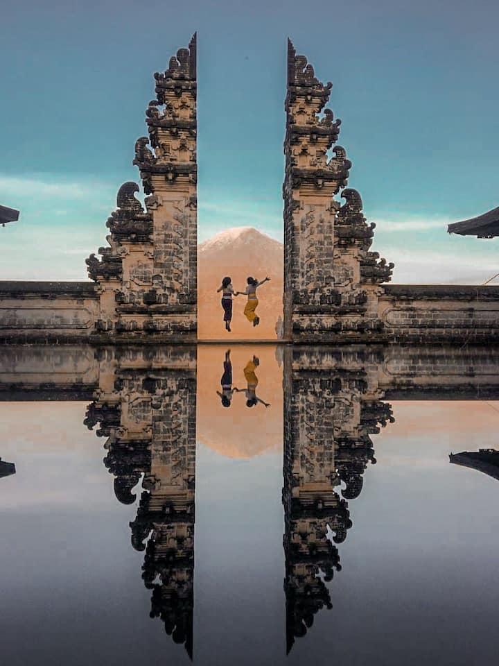 Bali Gate Heaven
