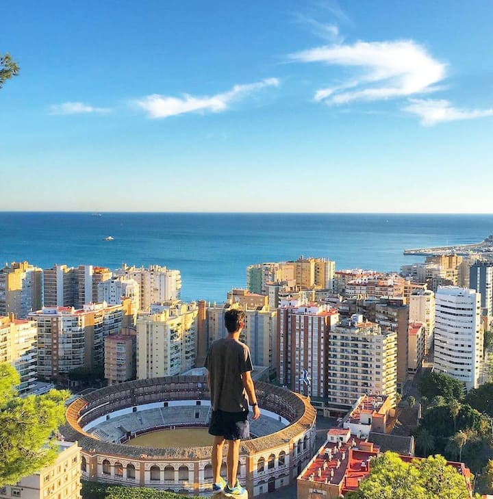 Malaga from the top
