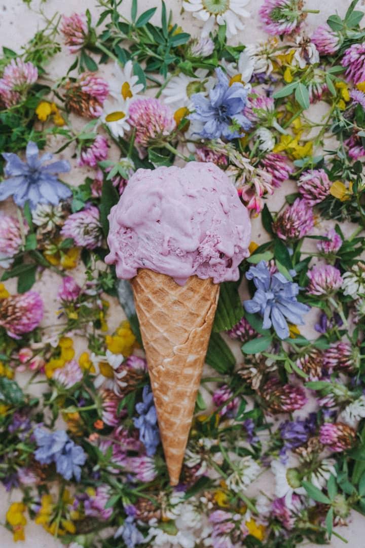 Luxurious Ice Cream and Sorbet