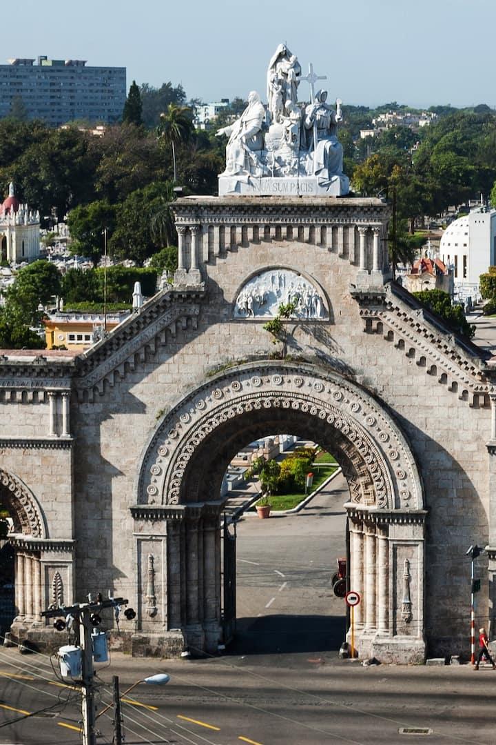 Entrance to the Necropolis