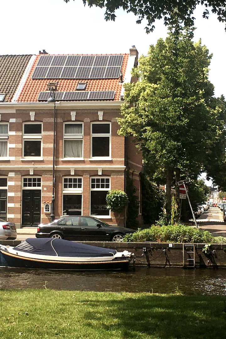 My home on the canal