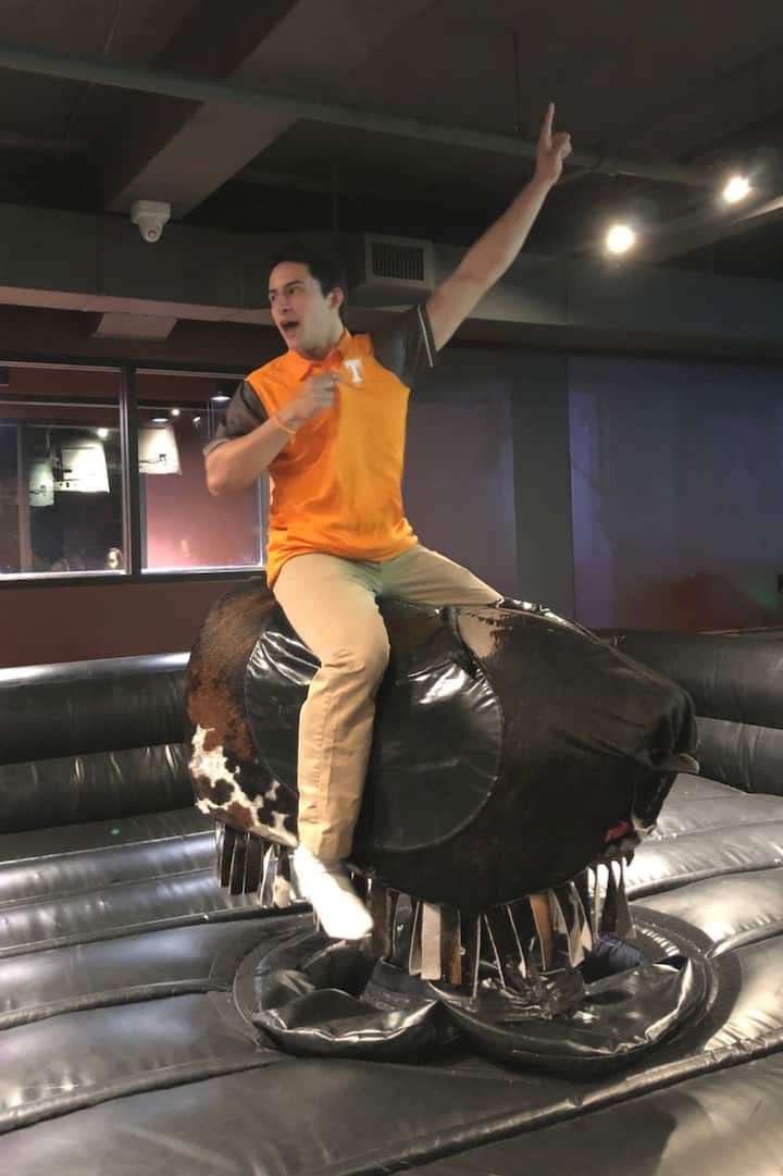 Ride the bull if you're not scared ;)