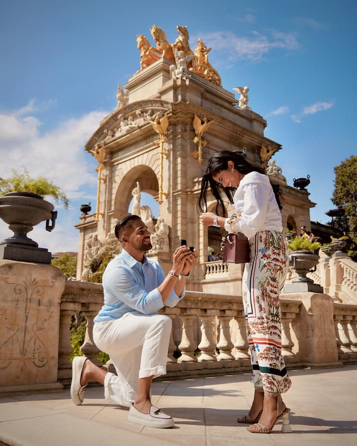 Collect magical moments with your couple