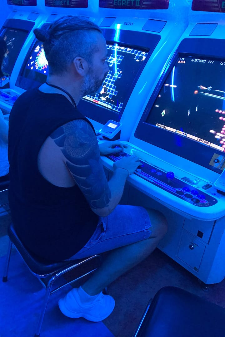 The best arcade in Japan